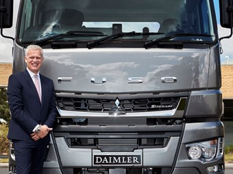 Heavy-hitter Müller to lead Fuso Truck and Bus Australia