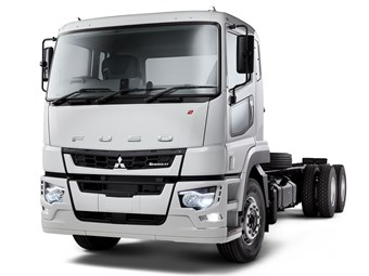 Grand unveiling of Fuso Shogun 360 at BTS
