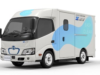 Hino lifts curtain on maiden electric truck