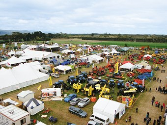 South Island Field Days groundwork steps up a gear
