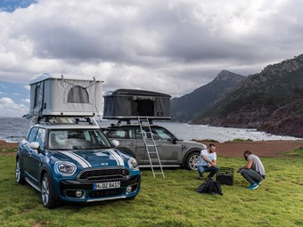 Special edition MINI comes with a new roof-top tent