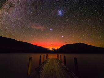 Spot the Southern Lights in New Zealand