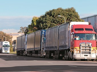 Long queues greet truck drivers at Visy's Adelaide warehouse