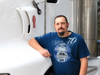 American journey an eye-opening experience for Australian truck driver