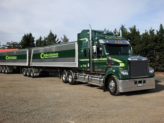 Counting on the Freightliner Coronado