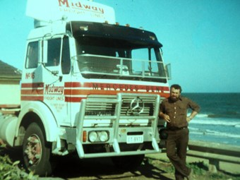 Truckies honoured at Alexandra truck memorial