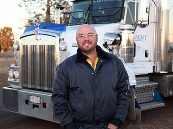 Passion for the job keeps Anthony Taylor trucking along