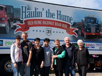 Hume Highway run hauls in $30k for charity