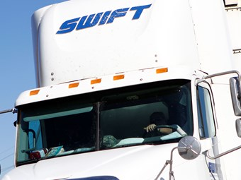 Truck drivers deserve respect: Swift Transportation