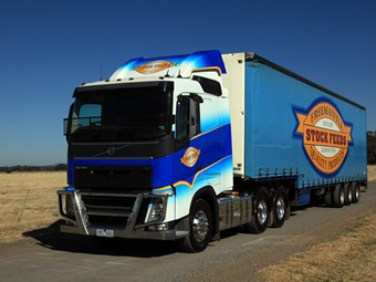 European trucks are the benchmark: Freemantle Stock Feeds