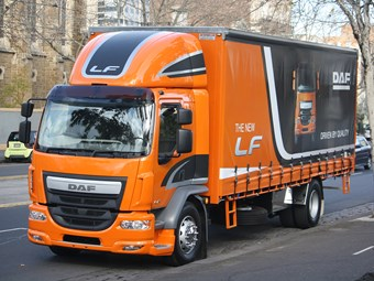 DAF revamps medium duty line-up with LF model