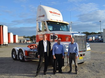 Jim Pearson Transport notches 200th Freightliner purchase