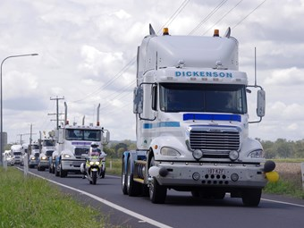 Lights out for 2016 Gatton Convoy