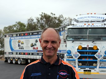 Rod Hannifey takes trucking message to the masses