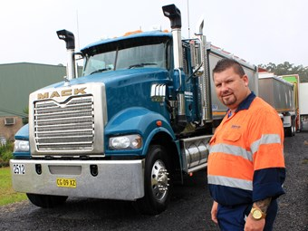 Hanson truck driver awarded for helping injured cyclist