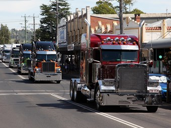 The convoy gets bigger and better at Bega