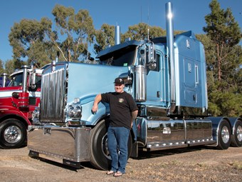 Towns' truck wows Oaklands