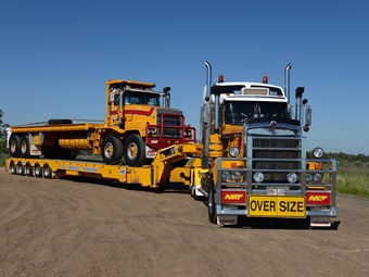 Variety in heavy haulage
