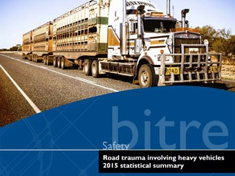 Rate of heavy vehicle fatal crashes down: BITRE