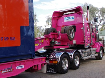 WA trucks to think pink at Kwinana show