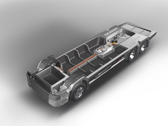 Scania looks to new materials for lighter chassis