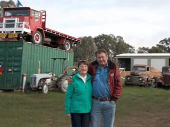 New support for Tarcutta Truck Museum
