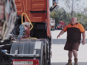 RACQ campaign makes emotional plea for heavy vehicle safety