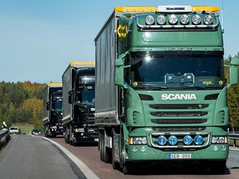 Truck platooning trial coming to Australia