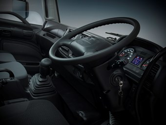 Hino 500 Series tease progresses with interior shot