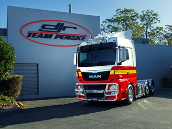 DJR Team Penske gets torquey new MAN TGX D38