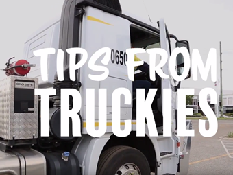 C'mon Car & Caravan Drivers: Drive Like a Truckie Campaign