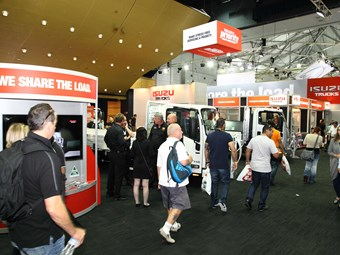 Isuzu goes big for Brisbane Truck Show