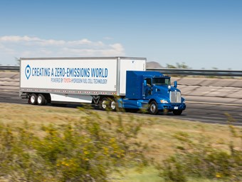 Toyota announces Kenworth-based Hydrogen truck for this year