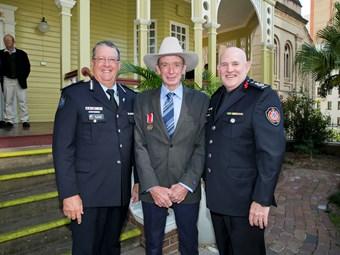 Truckie hero awarded highest honour for saving life