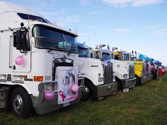 Camp Quality Convoy Victoria Ready For Liftoff News - Avalon truck
