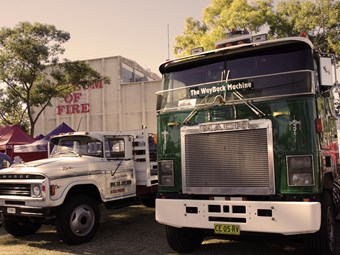 Lucky seven for Sydney Classic and Antique Truck Show