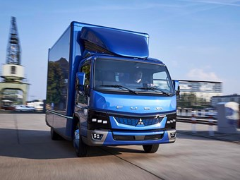 All-electric Fuso eCanter now in production