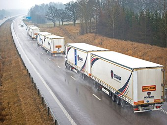 On-road truck platooning trial to be held in UK