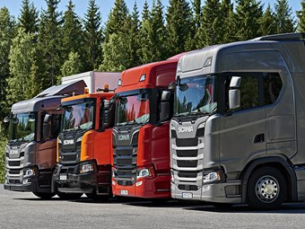 Scania unveils new construction trucks in Europe