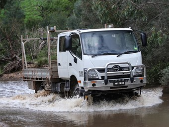Hino 300 Series 4x4 a first for make