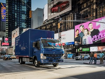 Fuso launches all-electric eCanter truck
