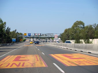 No relief for truckies as other toll-users score free rego