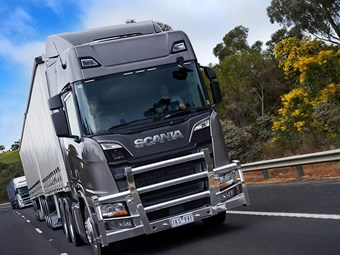 Scania New Truck Generation Australian launch in 2018