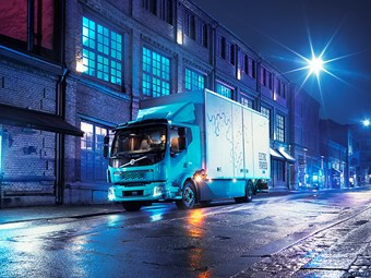Volvo premieres all-electric truck in Europe