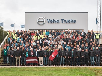 Polish truckie triumphant in global driver challenge