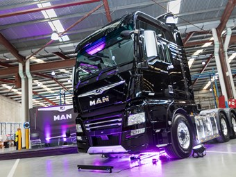 Penske returns to Brisbane Truck Show for 2019