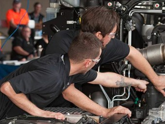 Record number of apprentices go head-to-head at Brisbane Truck Show