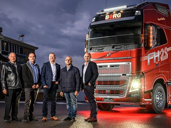 Borg gains 25th anniversary Volvo FH16