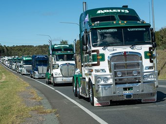 Canberra convoy ready to roll