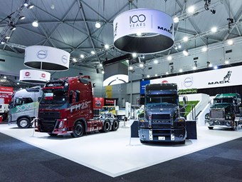 Volvo dumps Brisbane Truck Show under cover of COVID
